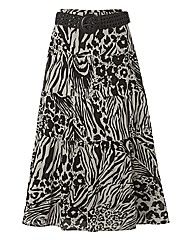 Gerry Weber Printed Tiered Skirt