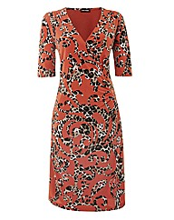 Gerry Weber Printed Mock Wrap Dress