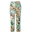 Gerry Weber Tropical Print Crop Trousers
