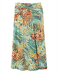 Gerry Weber Tropical Print Jersey Skirt