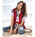 Gerry Weber Short Sleeve Stripe Polo Top