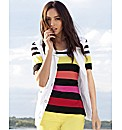 Gerry Weber Stripe Short Sleeve Top