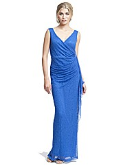 Gina Bacconi Beaded Full Length Dress