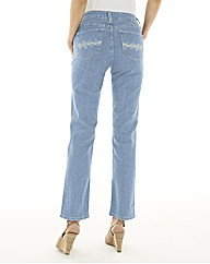 Not your Daughters Straight Leg Jean