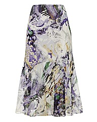 Gray & Osbourn Printed Georgette Skirt