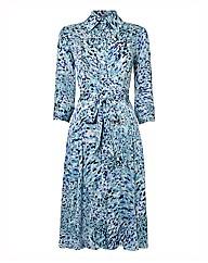 Gina Bacconi Printed Shirt Dress
