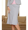 Gray & Osbourn Crepe Straight Skirt