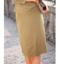 Gina Bacconi Jersey Skirt