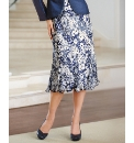 Gina Bacconi Satin Devore Skirt