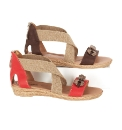 Adesso Beaded Elastic Sandals