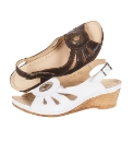 Riva Cut Out Wedge Sandals