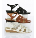 Van Dal Contrast Circle Detail Sandals
