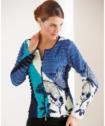 Frank Lyman Tiered Butterfly Jacket