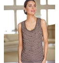 Gray & Osbourn Sleeveless Beaded Top