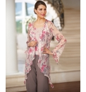 Chesca Silk Chiffon Waterfall Jacket