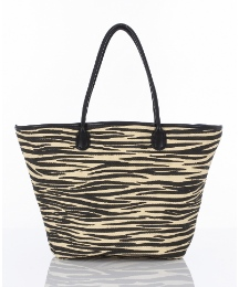 Pia Rossini Paper Straw Bucket Bag