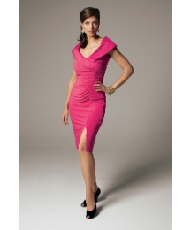 Joseph Ribkoff Jersey Ruched Dress