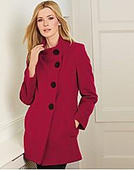 Cashmere Blend Coat - Gray & Osbourn