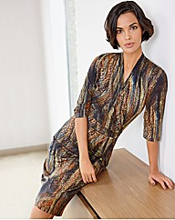 Mock Wrap Dress - Gray & Osborn