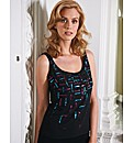 Murek Beaded Sleeveless Top