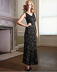 Gray & Osbourn Beaded Maxi Dress