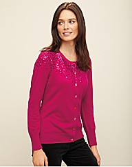 Anise Sequin Cardigan