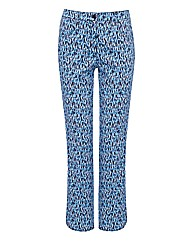 Frank Walder Printed Cotton Trousers