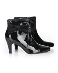 HB Shoes Patent Ankle Boot