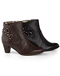 Van Dal Double Buckle Ankle Boots