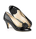 Van Dal Detachable Beaded Trim Peep Toes