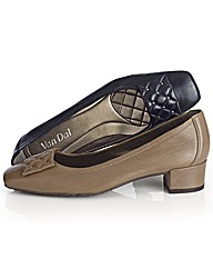 Van Dal Quilted Detail Court Shoes