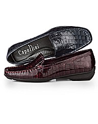 Capollini Patent Leather Loafers