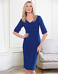 Eve Pollard Designs Shift Dress - Gray & Osbourn