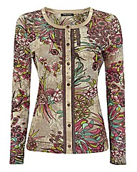 Betty Barclay Floral Mesh Jacket