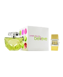 Britney Spears Believe 100ml EDP + Watch