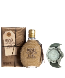 Diesel Fuel for Life 30ml EDT &FREE Gift
