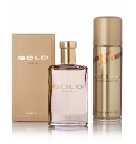Gold Mens Aftershave Set