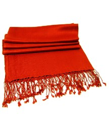 Petal Dolls Red Pashmina Scarf