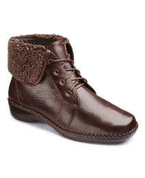 Cushion Walk Lace Boot E Fit