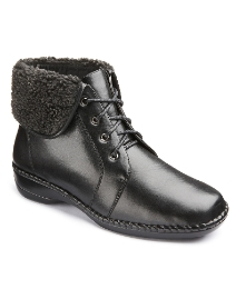 Cushion Walk Lace Boot EEE Fit