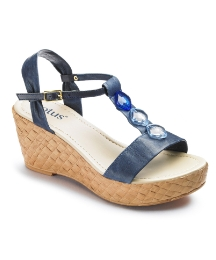 Lotus Jewel Sandals EEE Fit