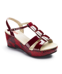 Lotus Wedge Sandals E Fit