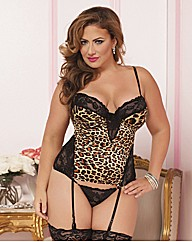 Seven Til Midnight Bustier With Thong