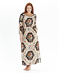 Simply Yours Printed Maxi Kaftan L50