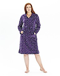 Pretty Secrets Fleece Nightshirt L38