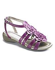 Easystep Flower Detail Sandals E Fit