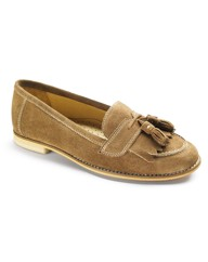 Emotion Fringe Loafers EEE Fit