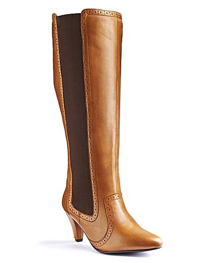 Legroom Boots Curvy Calf E Fit