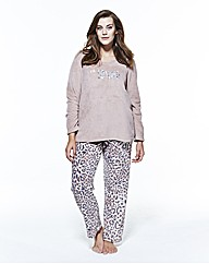 Pretty Secrets Go Wild Fleece Pyjamas