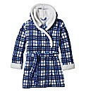 Pretty Secrets Check Fleece Gown L35